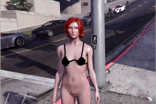 Triss (Nude) from Witcher 3 [Add-On Ped]