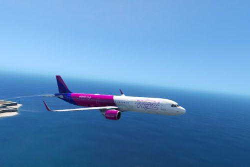 Wizzair A321neo Livery