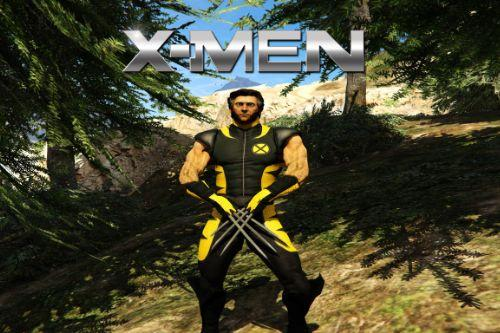 Wolverine X-Men costume [Add-On Ped]