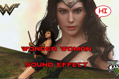 Wonder Woman Sound Effects