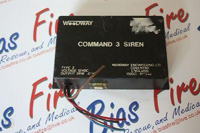 Woodway Commander 3 / London Fire Brigade Siren Pack