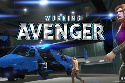Working Avenger in SP