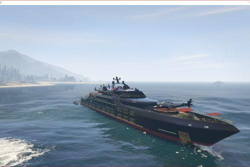 Working Galaxy Super Yacht Mod
