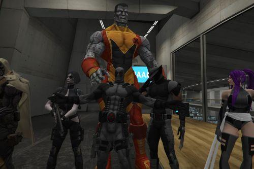 X- Force Pack. 18+ (Domino) [Add-On Ped]