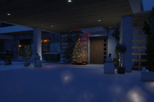 XMAS Malibu Mansion [Add-On | FiveM]