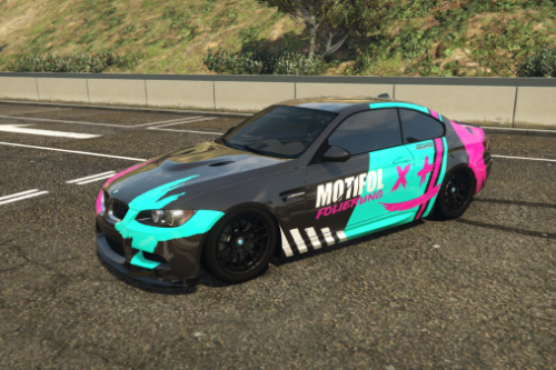 MOTIFOL Livery for BMW M3 e92