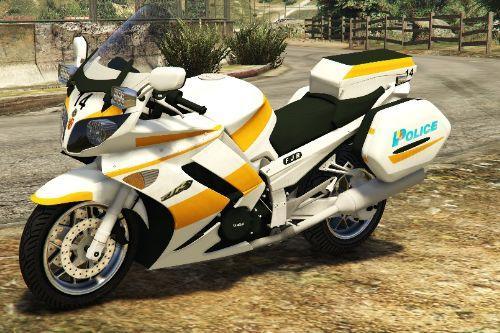 Yamaha FJR1300 - Swiss GE Police