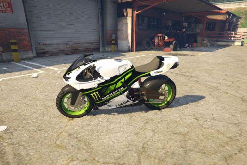 Yamaha R1 - Monster Energy (Bati)