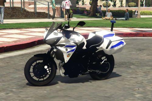 Yamaha Tracer 700 - Polizia Roma Capitale