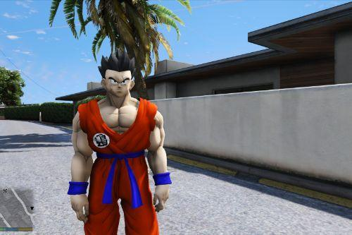 Yamcha - Base Form (Dragon Ball Z) [Add-On]