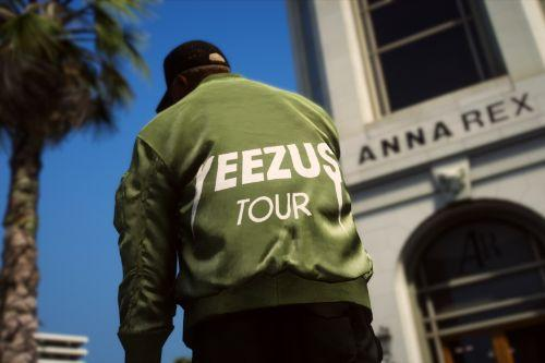MP MALE Yeezus Tour Bomber Jacket