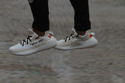 YEEZY BOOST 350 V2 | OFF-WHITE | CUSTOMS