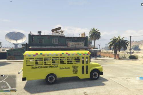 Yellow Jack Party Bus