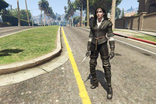 Yennefer Character Pack [Add-On Ped]