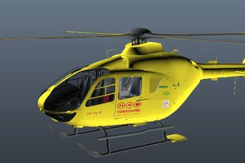 Yorkshire Air Ambulance (H145 Replica) (Replace)
