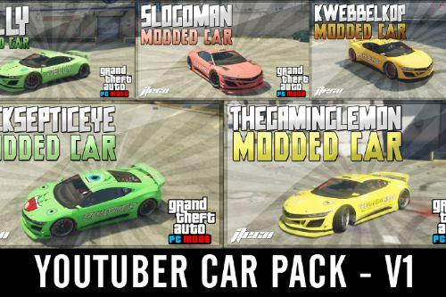 YouTuber Car Pack