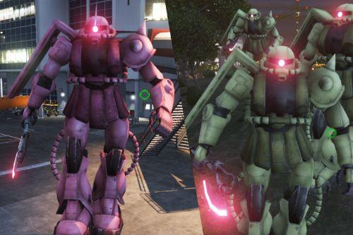 Zaku II (Gundam Series) [BIG Emissive Add-On Ped]