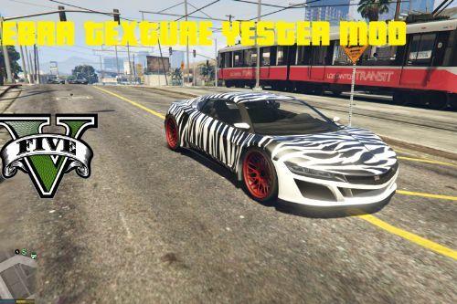 Zebra Jester Texture Mod