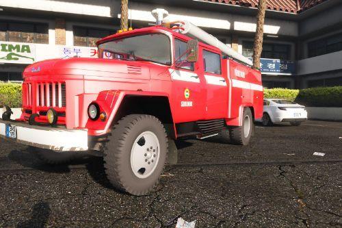 ZIL Hungarian Firetruck