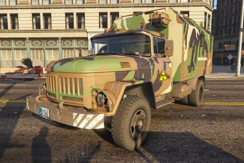 ZIL Hungarian Military Truck