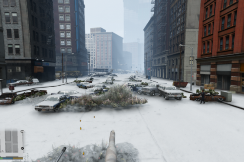 Zombie Apocalypse Winter (Menyoo) (Map Editor)