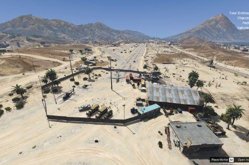 Zombie Army Base in Sandy Shores  [Menyoo]