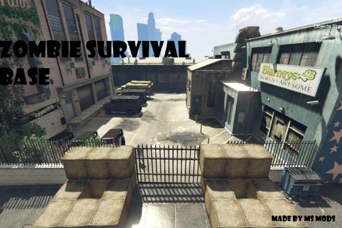 Zombie Survival Base [Menyoo]