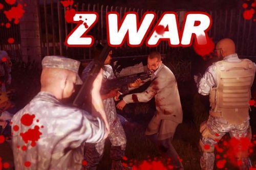 Zombie War (Police Mod + Zombie Mod)
