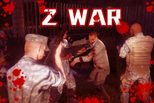 Zombie War (Zombie Mod + Police Mod)