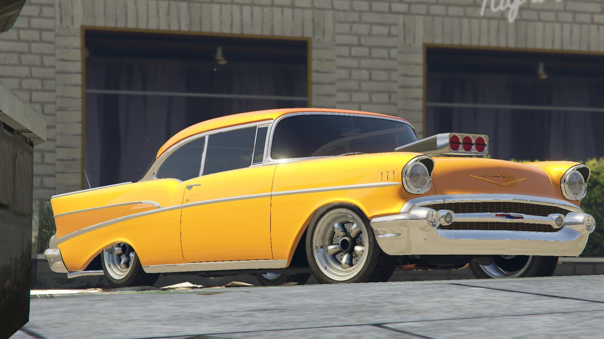 1957 chevrolet bel air sport coupe tuning gta5. Black Bedroom Furniture Sets. Home Design Ideas