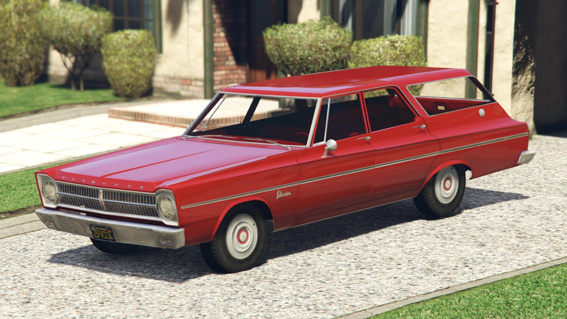 1965 Plymouth Belvedere I Wagon Add On Replace Gta5