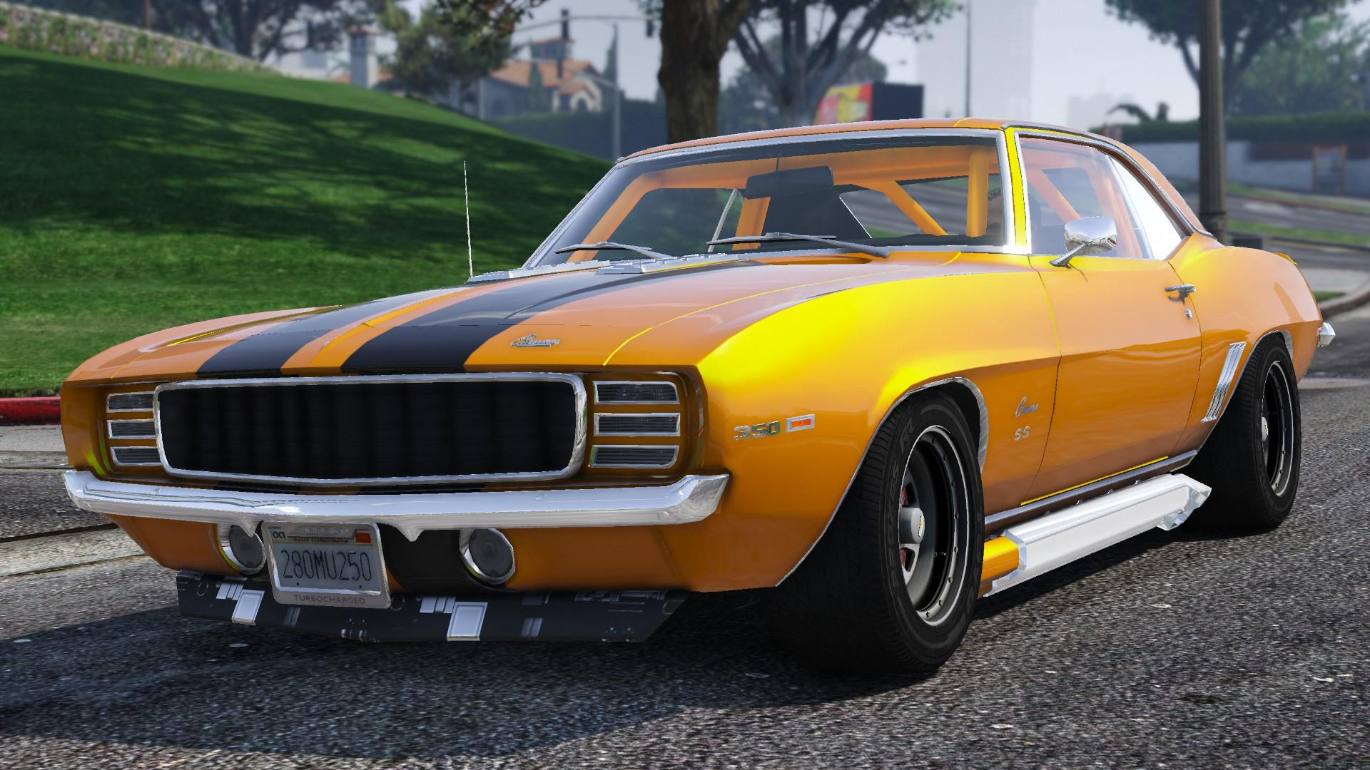 1969 chevrolet camaro ss add on gta5 - Camaro ss ...