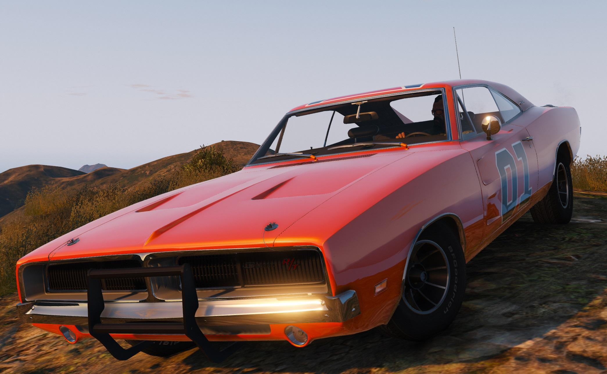 1969 dodge charger r t add on replace tuning hq gta5. Black Bedroom Furniture Sets. Home Design Ideas