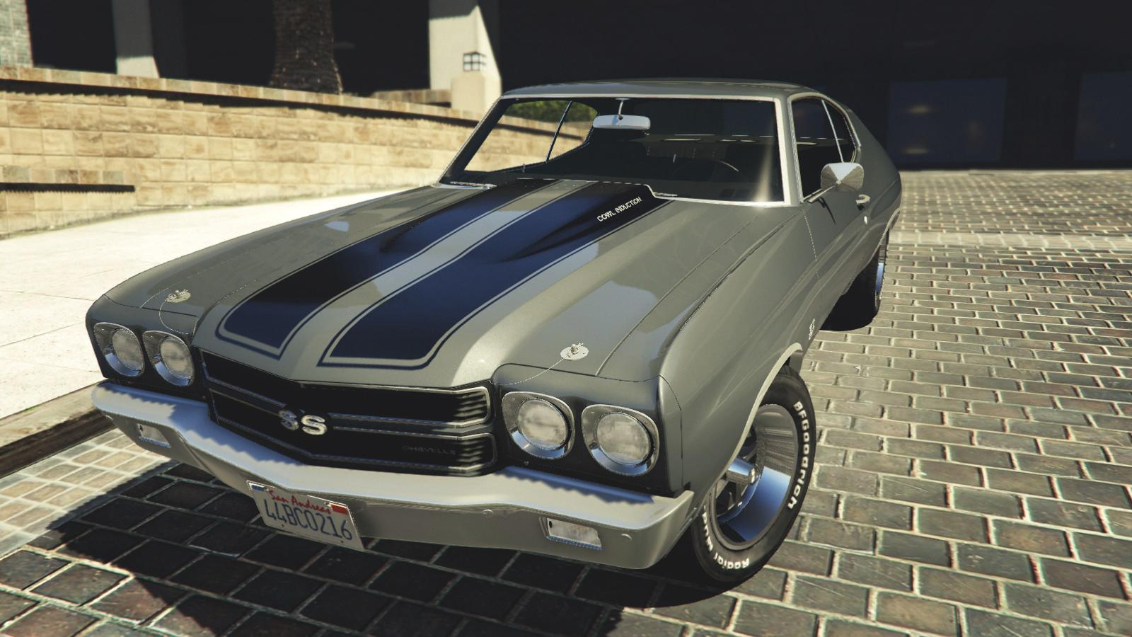 1970 chevrolet chevelle ss add on replace gta5. Black Bedroom Furniture Sets. Home Design Ideas