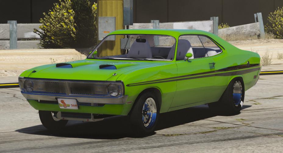 1971 Dodge Dart Demon Drag Version [FiveM | Replace ...