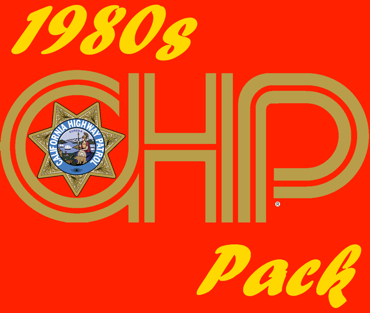 1980s california highway patrol pack gta5. Black Bedroom Furniture Sets. Home Design Ideas
