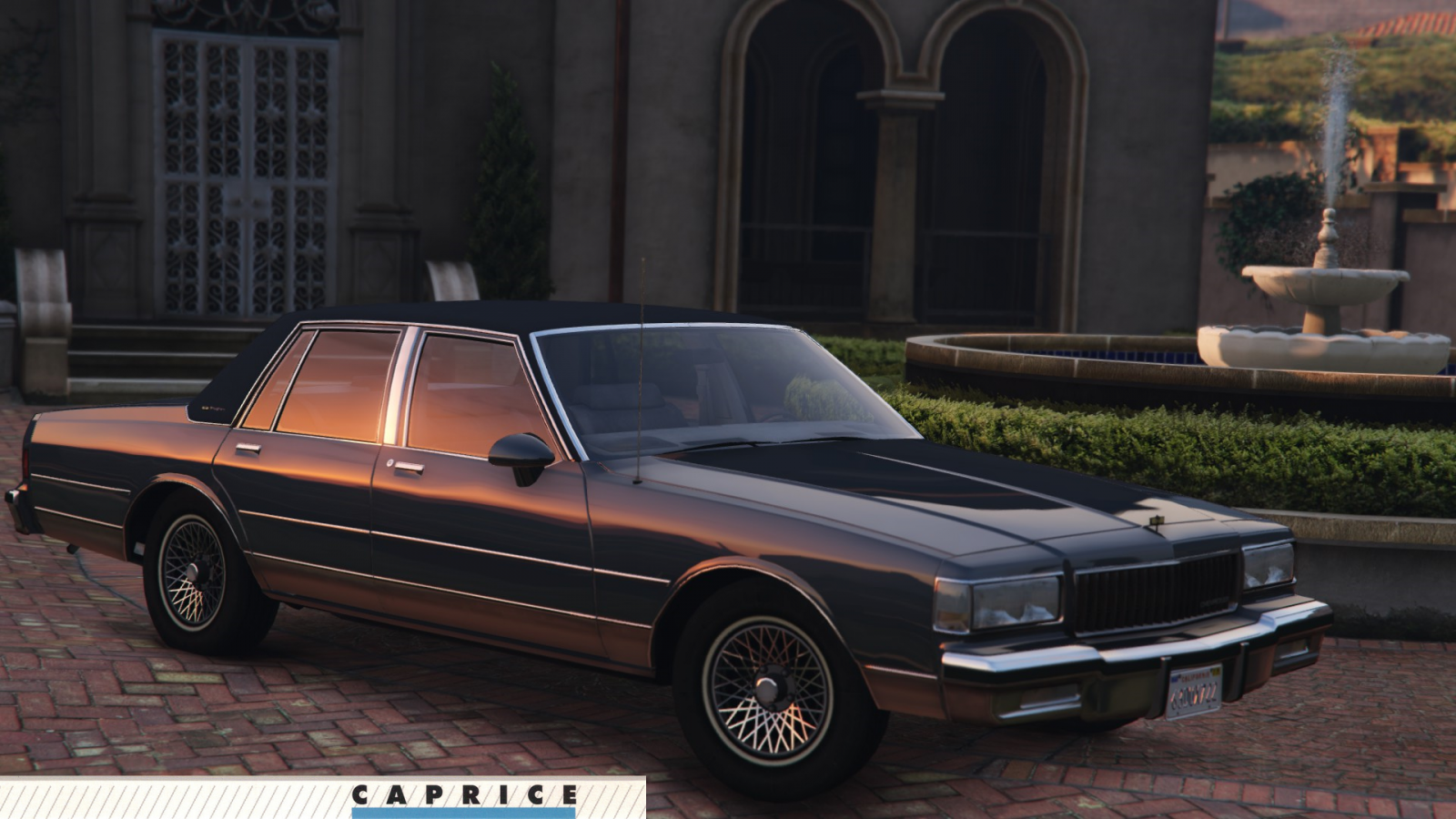 1987 chevrolet caprice brougham gta5. Black Bedroom Furniture Sets. Home Design Ideas