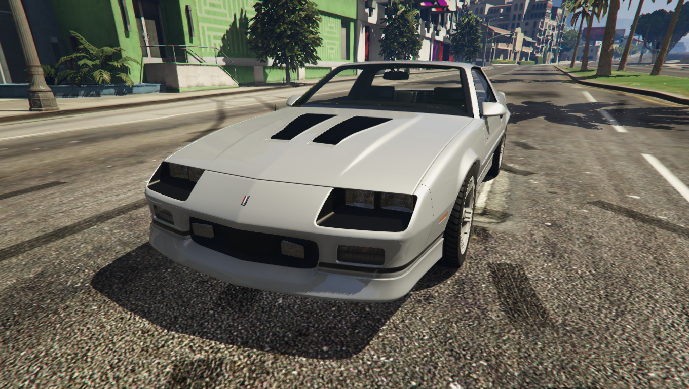 1990 chevrolet camaro iroc z reconverted add on replace gta5. Black Bedroom Furniture Sets. Home Design Ideas