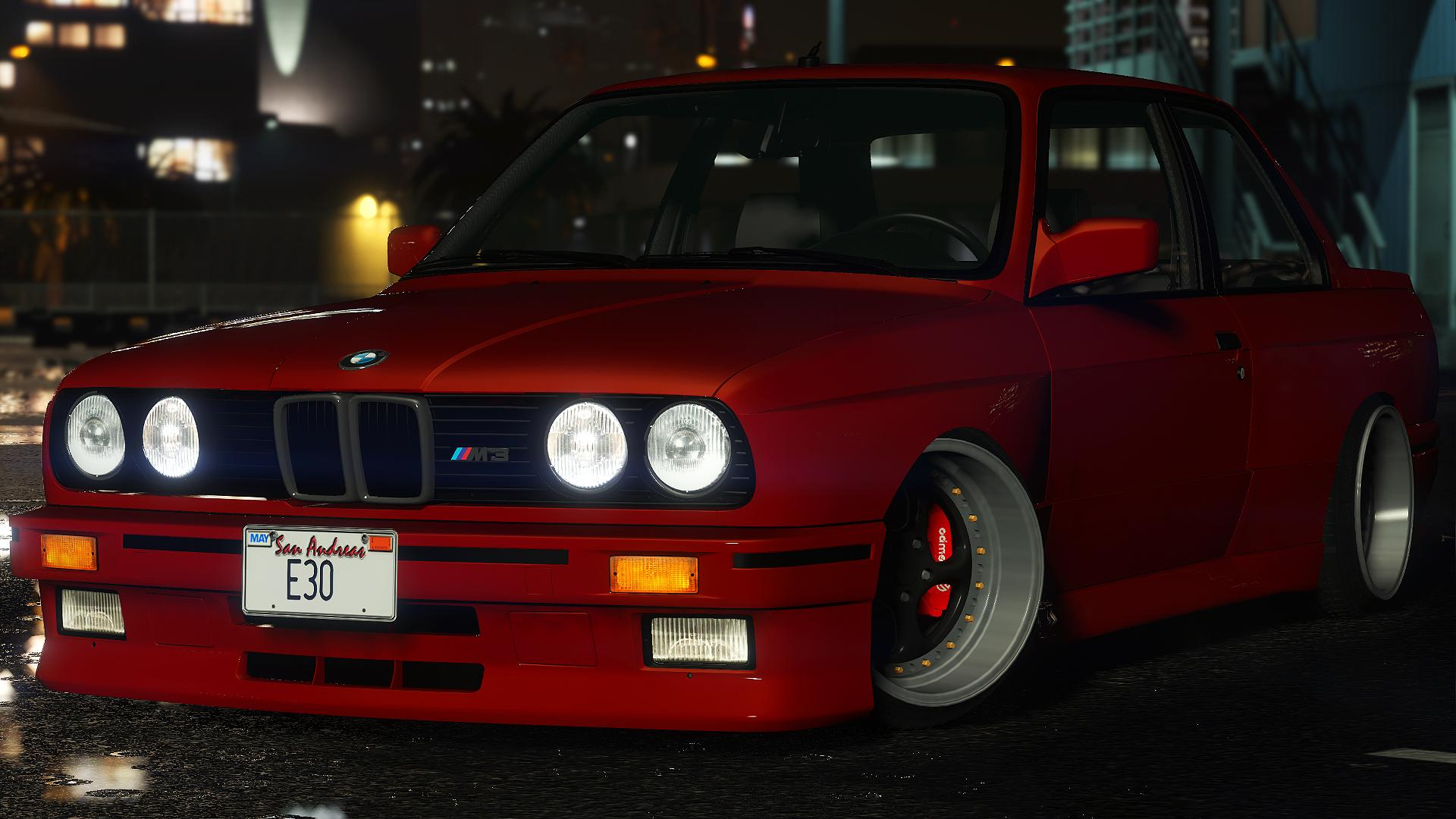 1991 BMW M3 E30 - GTA5-Mods.com