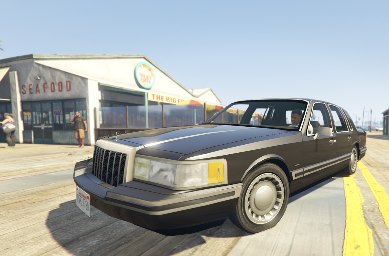1991 lincoln towncar gta5. Black Bedroom Furniture Sets. Home Design Ideas