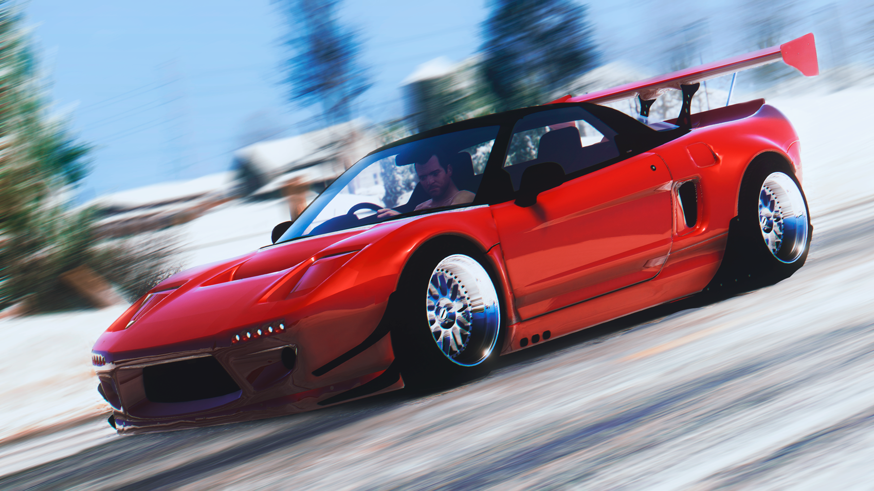 1992 honda nsx r rocket bunny add on gta5. Black Bedroom Furniture Sets. Home Design Ideas