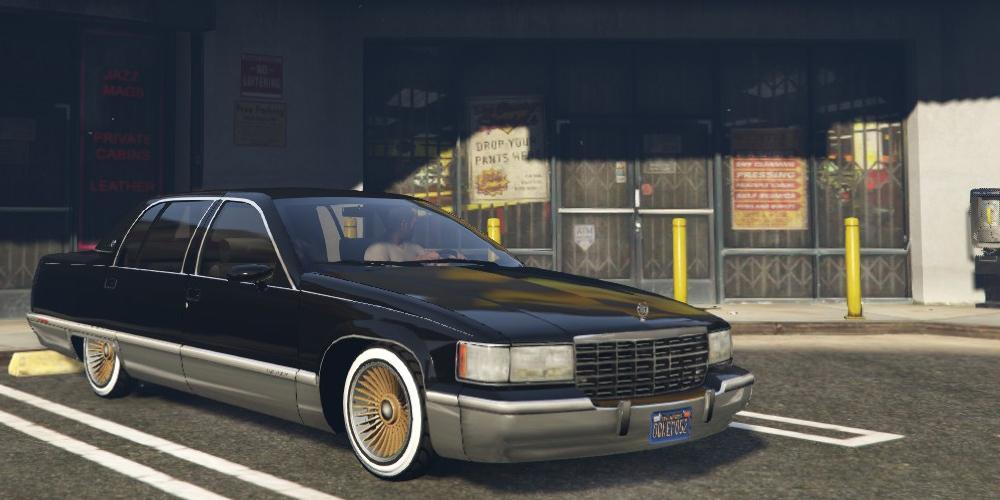 1993 Cadillac Fleetwood Gta5 Mods Com
