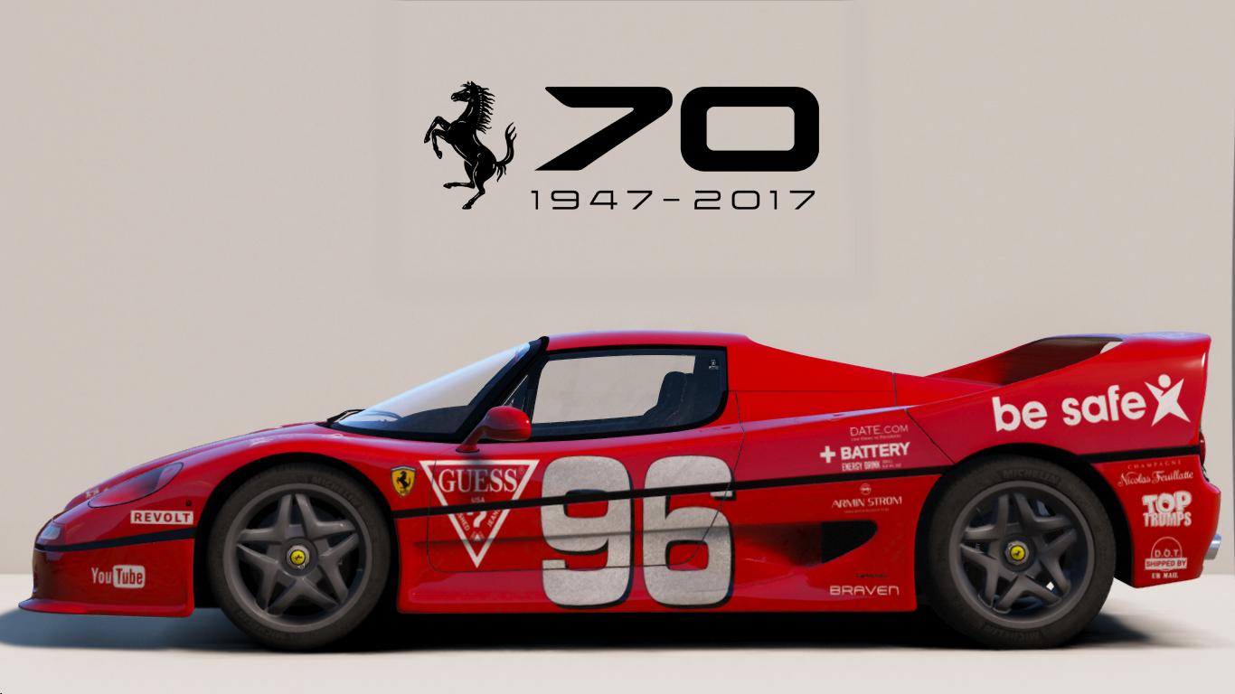1995 Ferrari F50 Add On Tuning Template Gta5 Mods Com