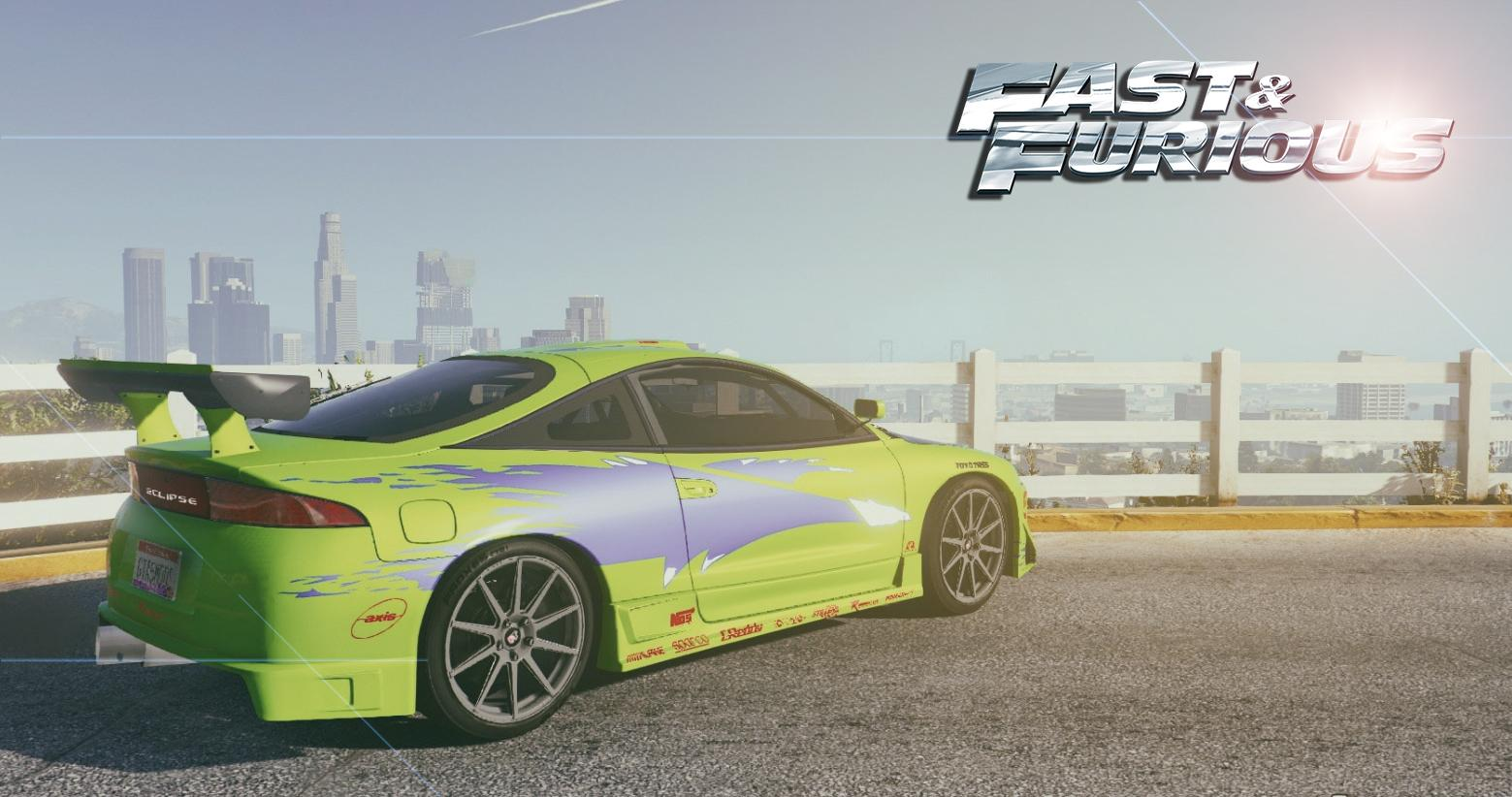 1995 Mitsubishi Eclipse GSX The Fast and the Furious ...