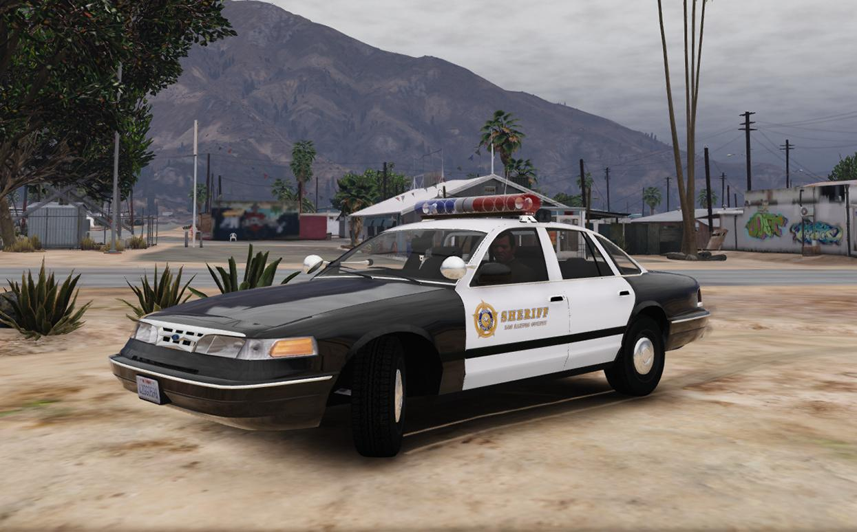1996 ford crown victoria lspd sheriff skin gta5. Black Bedroom Furniture Sets. Home Design Ideas