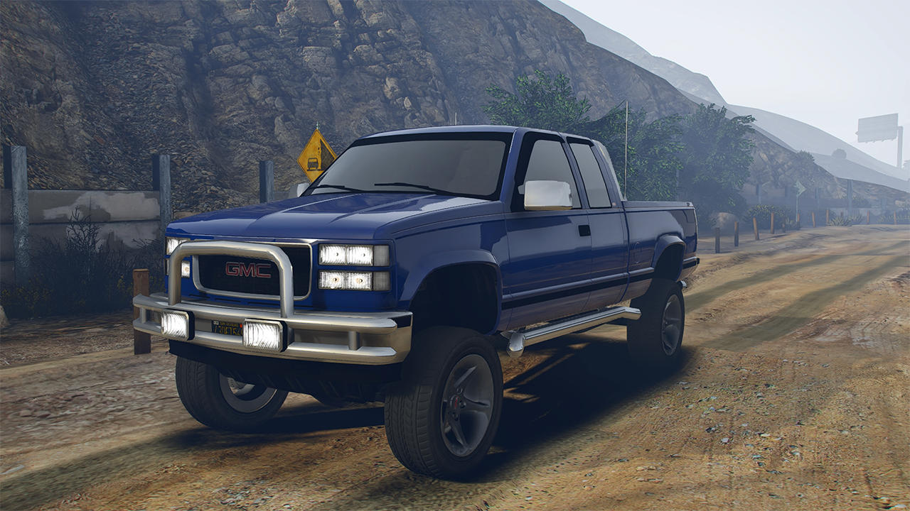 1997 Gmc Sierra 1500 Custom Add On Extras Unlocked Gta5 Mods Com