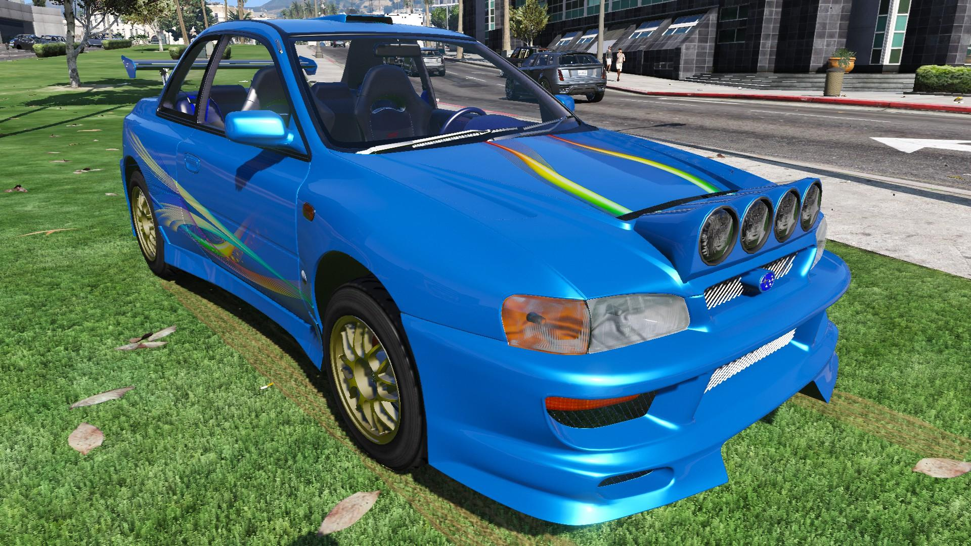 1998 subaru impreza 22b sti gta5. Black Bedroom Furniture Sets. Home Design Ideas