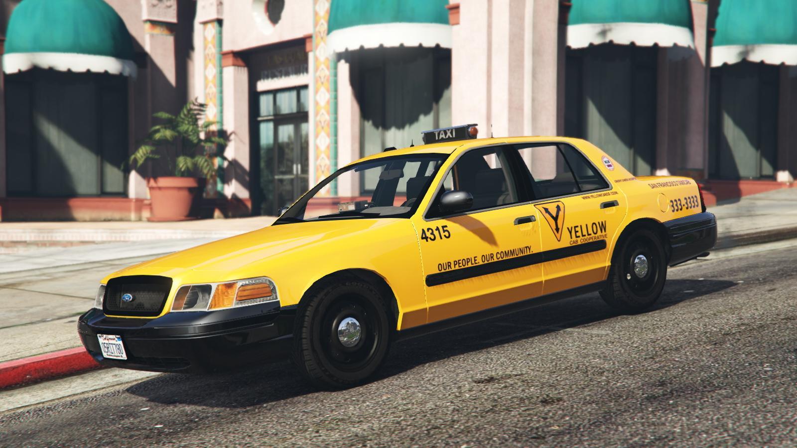 "Mercedes Benz Of San Francisco >> 1999 Ford Crown Victoria Taxi ""San Francisco Taxi ..."