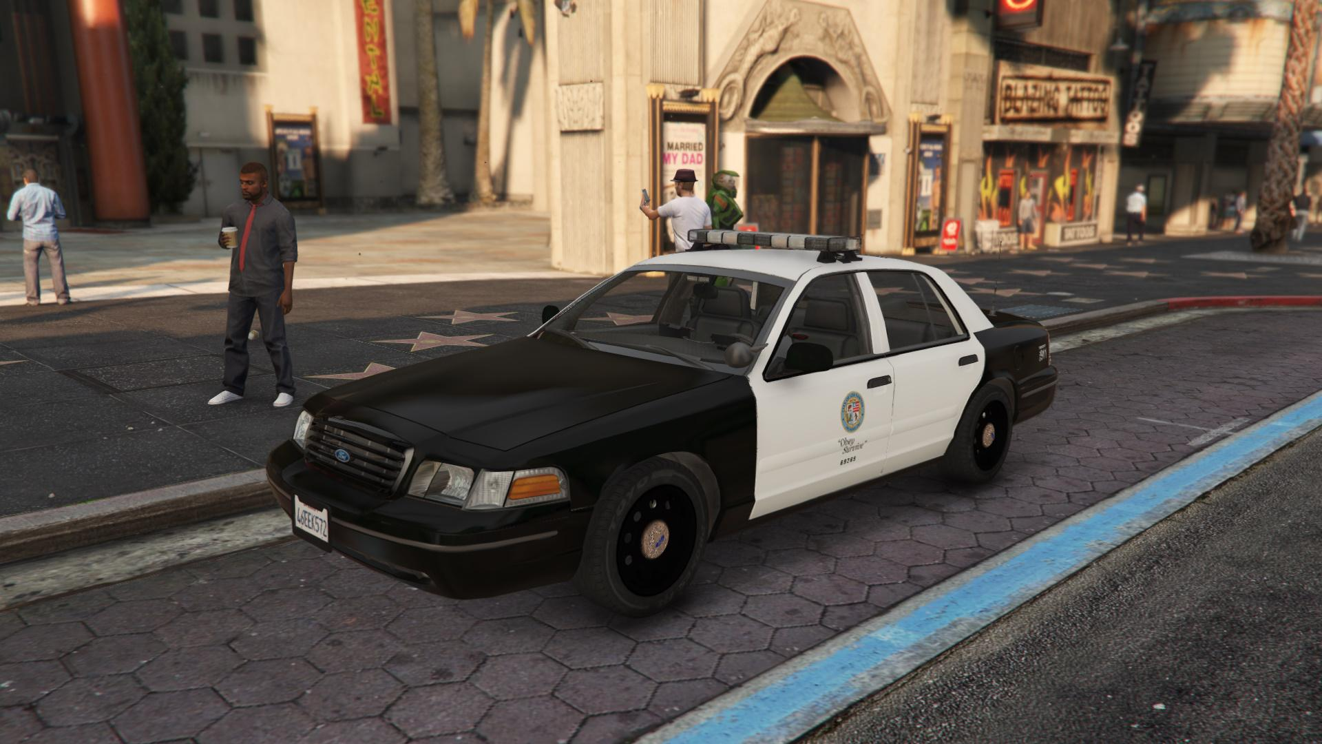 1999 Ford Crown Victoria With Whelen Edge Lightbar Gta5