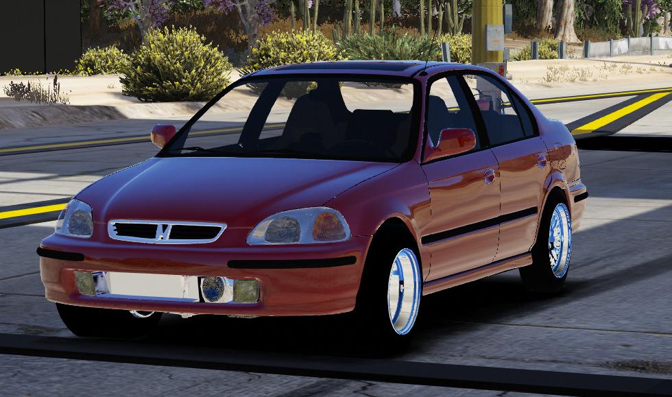 1997 Honda Civic Sedan Drag Version Five M Replace